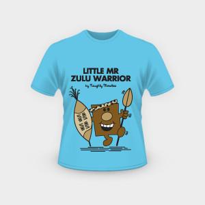 Little Mr Zulu Warrior T-Shirt